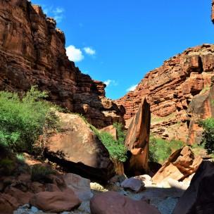 The walk through the Canyon